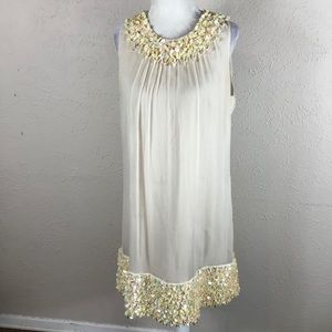 Betsey Johnson evening party dress 60s style shift